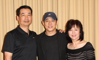 Jet Li Chris Pei and Zhang Guifeng s